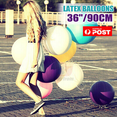Large 90cm 36Inch Balloon Latex 12 Colors Birthday Party Wedding Decoration