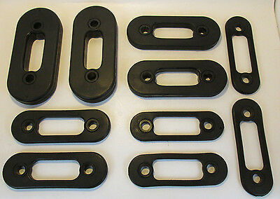 Lot of 10 Soloflex Bands WEIGHT STRAPS Bench Gym Rockit 100 50 25 10 390 Pounds