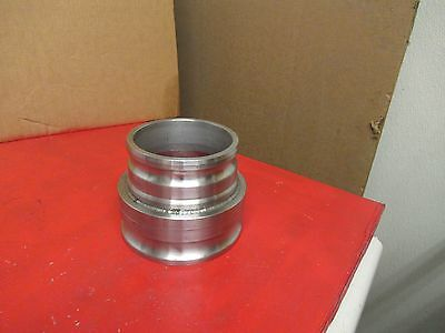 "No Name 6"" X 5"" Male Camlock Reducer Coupling Stainless S/s Used"
