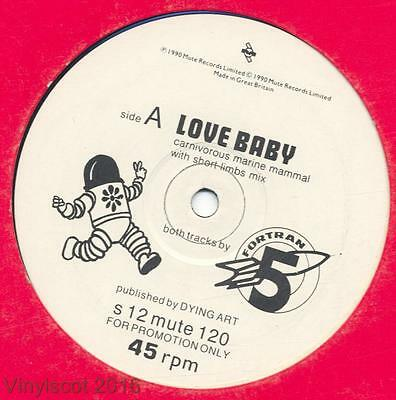 "Fortran 5 - Love Baby - 12"" Vinyl Single (Promo)"