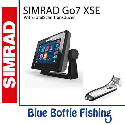 SIMRAD GO7 XSE With TotalScan + Navionics Plus (Gold)