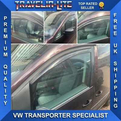 VW Caddy Wind Deflectors Perfect Fit 2004 Onwards Great Quality Brand New