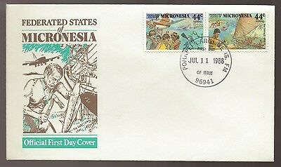 1988 MICRONESIA Federated States AIRMAIL FDC