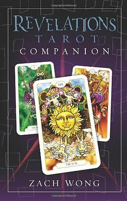 Revelations Tarot NEW Sealed Set 78 Stained glass color Cards 216pg Book Z. Wong