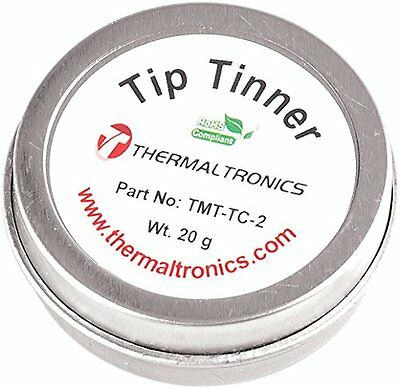Tip Tinner Cleaner Welding Soldering Iron Prevent Oxide Thermaltronics Lead Free