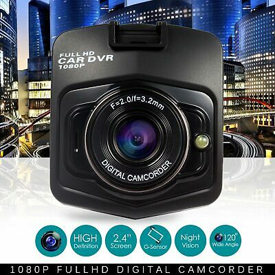 1080P HD Night Vision Car Camera Video Recorder Vehicle Dash Cam DVR G Sensor