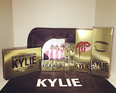 Authentic Kylie Cosmetics - The Limited Edition Birthday Collection   The Bundle