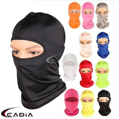 Motorcycle Outdoor Cycling Ski Neck Protecter Polyester Balaclava Full Face Mask