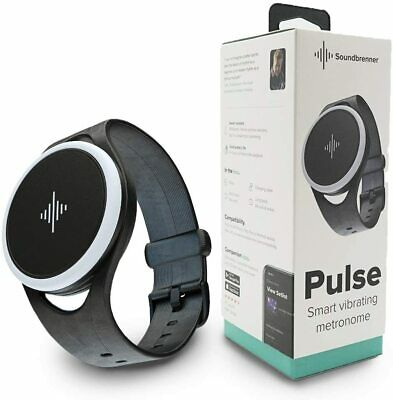 SOUNDBRENNER Pulse Smart Vibrating Metronomo Vibrante da Polso Orologio NEW