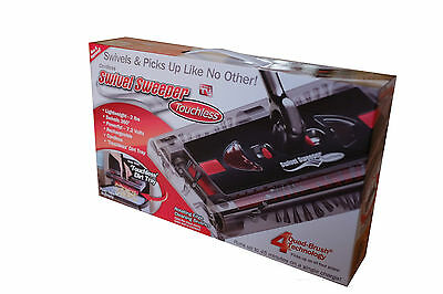 Swivel Sweeper Touchless As Seen On Tv Original With Battery &charger Brand New