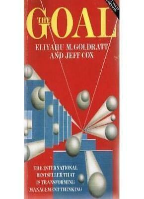 The Goal By Eliyahu M. Goldratt, Jeff Cox. 9780704506367