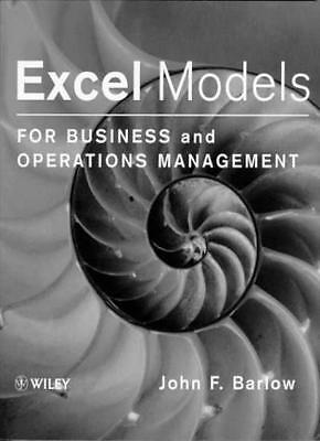 Excel Models for Business and Operations Management By John Barlow