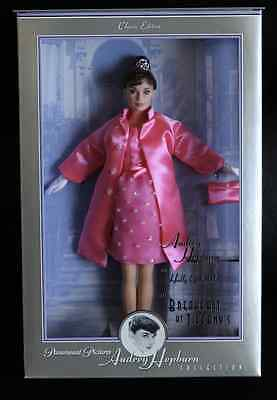 Barbie Audrey Hepburn from Breakfast at Tiffany's Pink Princess NRFB
