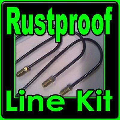 Brake line kit for Chevy Blazer and GMC Jimmy 1967 - 1997 Coated Rustproof Lines
