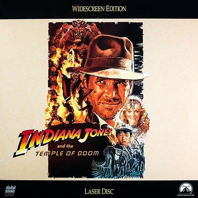 Doppel-LaserDisc LD INDIANA JONES AND THE TEMPLE OF DOOM Harrison Ford