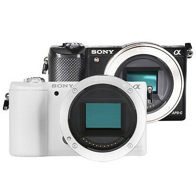 (Body Only) Sony Alpha A5000 Mirrorless Wi-Fi Digital Camera (without Lens) +