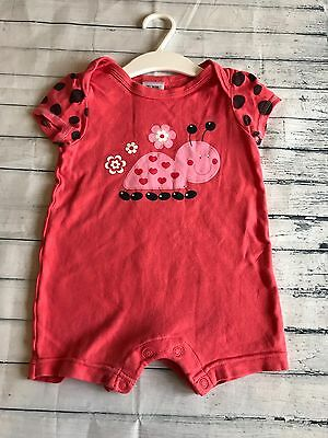 Baby Girls Clothes 6-9  Months - Pretty Jumpsuit Romper Outfit -