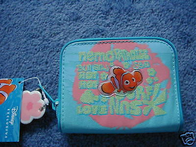 Disney Store Finding Nemo Blue Glittery Purse BRAND NEW! RARE