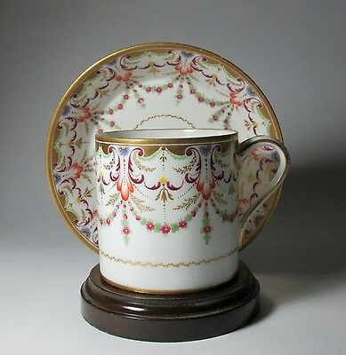 Fine large 18th Century Paris porcelain Cup & Saucer