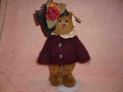 "TEDDY BEAR DOLL PHOEBE RETIRED #1185 BEARINGTON COLLECTION 14"" NEW w/tag BROWN"