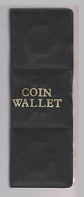 Various US Quarters in Coin Wallet - 24 Quarters Very Well labeled  Uncirculated