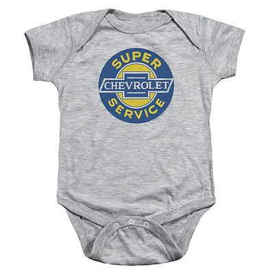 Chevy Chevy Super Service Unisex Baby Snapsuit Athletic Heather