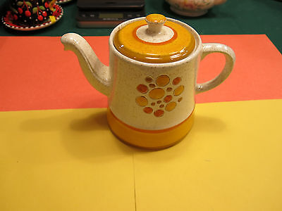 Stangl Sun Pebbles Teapot Retro 1960's-70's 6 inches high x 8 inches long