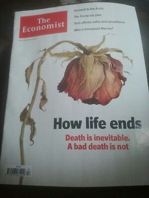 The Economist magazine/journal April 29th–May 5th 2017 How life ends