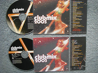 Club Mix 2005  2 x Jukebox CDs for NSM Jukeboxes + matching Title Cards