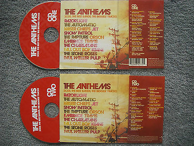 The Anthems  2 x Jukebox CDs for NSM Jukeboxes + matching Title Cards