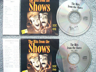 Hits From the Shows 2 x Jukebox CDs for NSM Jukeboxes + matching Title Cards