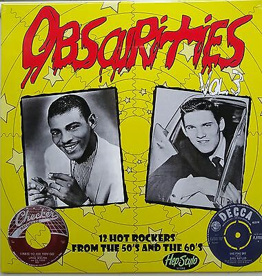"VA. OBSCURITIES VOL 3 10""-SHEL NAYLOR LITTLE WALTER-KILLER RARE ROCKERS 50s/60s"