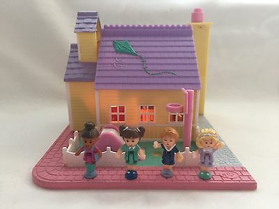 polly pocket 1993 SCHOOLHOUSE  100% Complete  RARE