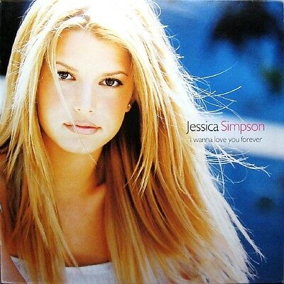 Jessica Simpson I Wanna Love You Forever Vinyl Single 12inch Columbia