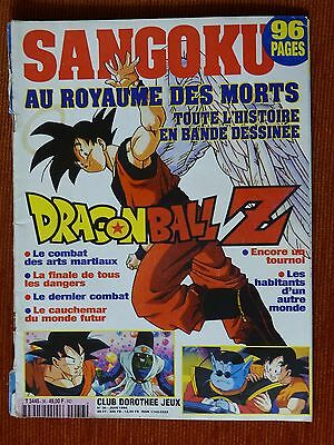CLUB DOROTHEE JEUX n° 36 DRAGON BALL Z - SANGOKU AU ROYAUME DES MORTS