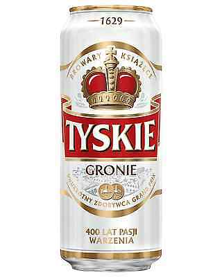 Tyskie Premium Lager 500mL - Fully Imported case of 24 Imported Beer