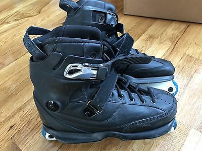 USD Carbon 3 All Black Boot Aggressive Skate Size 11