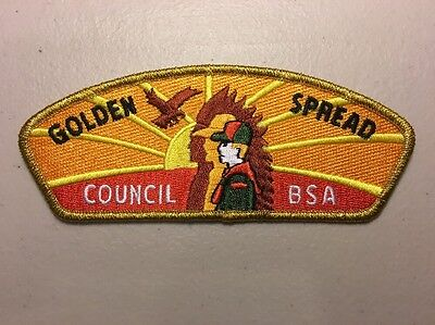 Boy Scouts of America BSA Golden Spread Texas & Oklahoma Panhandle Council Patch