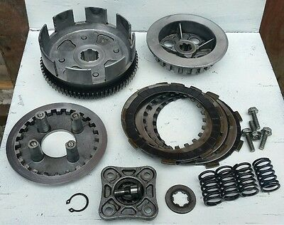 1996 Honda XR100R Clutch Assembly - Basket, Pressure Plate etc. XR100
