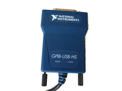 NI (National Instrumens) GPIB-USB-HS Interface Adapter controller IEEE 488