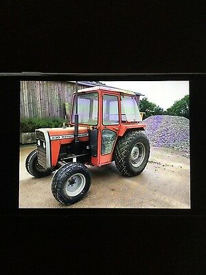 Massey Ferguson 230 With 2700 hrs grass tyres and cab