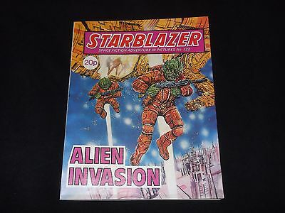 STARBLAZER NO 122 - Alien Invasion   -  Many other titles available