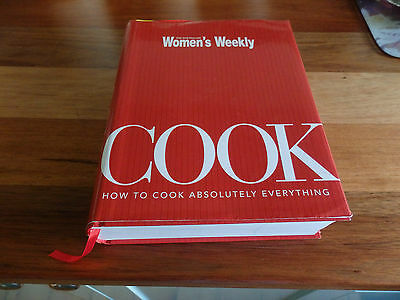 "REDUCED. Australian Women's Weekly, "" COOK- How to Cook Absolutely Everything """