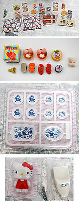 Hello Kitty KH Miniature Dollhouse Dollhouse Casa de muñecas Sushi japan food