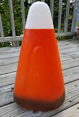 "Vintage Union 17"" Thanksgiving Lighted Blow Mold Harvest Candy Corn Yard Decor"