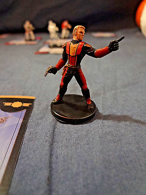 Star Wars Miniatures Game Figure with card Universe Republic Commander 5/60 2006