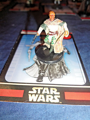 Star Wars Miniatures Game Figure with card Universe Dresselian Com 46/60 2005