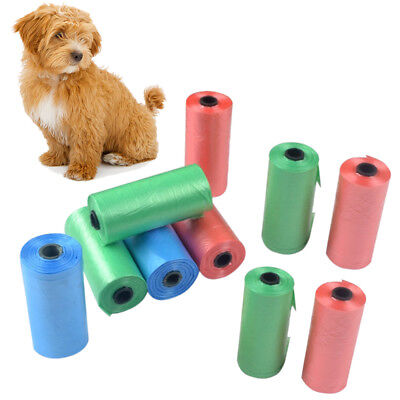 10x Biodegradable Disposable Bags Dog Cat Poop Pooper Bag Pick-up Waste Bag