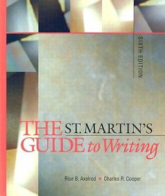 st martins guide to writing Pdf file: st martins guide to writing 8th edition with 2009 mla update sticks and stones and other student essays 6th edition - pdf-smgtw8ew2musasaose6e-29-13.