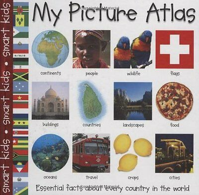 My Picture Atlas (Smart Kids) by Roger Priddy